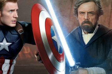 Lightsaber Vs. Cap's Shield: Mark Hamill & Chris Evans Debate the Ultimate Power