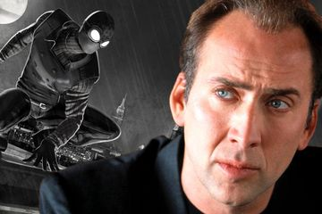 Into The Spider-Verse Reportedly Adds Nicolas Cage As Spider-Man Noir