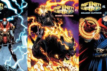 Marvel Teases Black Panther/Ghost Rider & More Hybrid Heroes