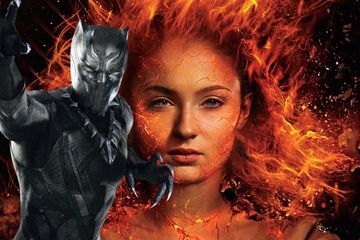 X-Men Star Compares Dark Phoenix Release Date to Black Panther