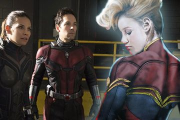Ant-Man & the Wasp May Hide A Major Captain Marvel Connection