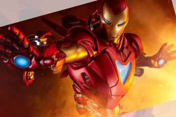 Exclusive Reveal: Iron Man Extremis Mark II Statue by Adi Granov
