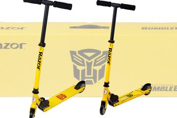 Exclusive First Look: Transformers Bumblebee Razor Scooters