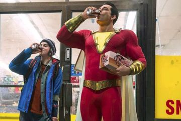 First Official Shazam Photo Reveals Zachary Levi in Full Costume