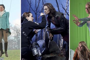 Once Upon A Time: 28 Behind-The-Scenes Photos That Completely Change Everything