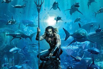 First Aquaman Poster Arrives and It's Stunning