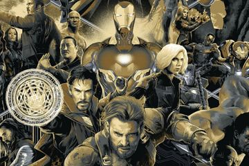 Mondo's Avengers: Infinity War Comic-Con Poster is Breathtaking