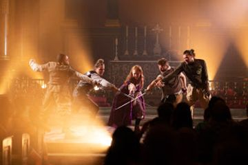 REVIEW: The Three Musketeers at St Paul's Church, Covent Garden