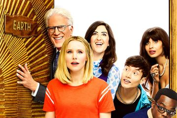 The Good Place Season 3 Poster Trades Heaven For A Place On Earth