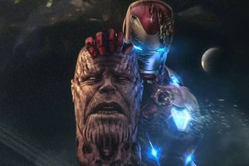 Iron Man Decapitates Thanos in Startling Avengers 4 Fan Art