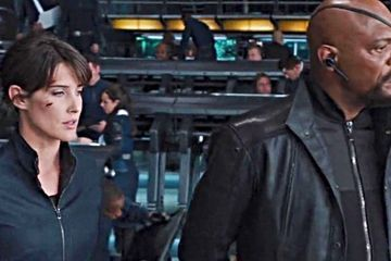 Nick Fury & Maria Hill Return in Spider-Man: Far from Home Set Video