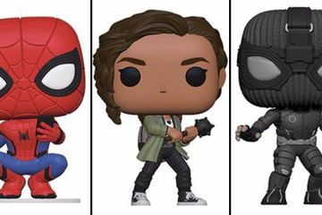 Far from Home Funko Pops! Include Battle-Ready MJ & Stealth Spider-Man
