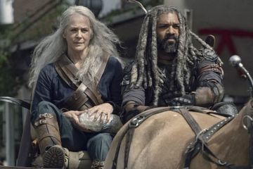 The Walking Dead Episode 9.11 Clip Features Carol and Ezekiel