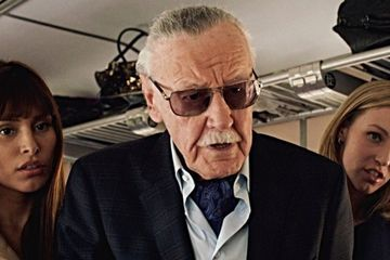 Stan Lee's Captain Marvel Cameo Is Sure to Make Kevin Smith Cry