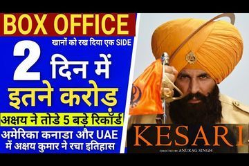 Kesari Box Office Collection Day 2,Kesari 2nd Day Box Office Collection, Akshay Kumar, Parineeti C