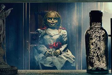 First Look at Annabelle Comes Home Locks the Evil Doll Behind Glass