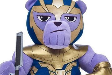 Build-A-Bear Snaps Thanos Teddy Bear Into Existence