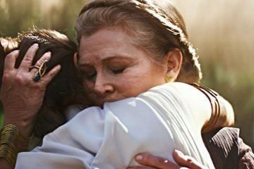 Leia Lives in First Star Wars: The Rise of Skywalker Footage