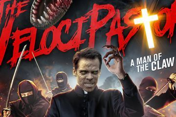 The VelociPastor Trailer: This Jurassic Priest Is a Man of the Claw