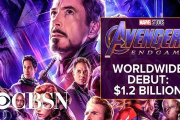 Avengers Endgame has historic box office opening