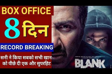 Blank Movie Box Office Collection Day 8,Blank 8th Day Box Office Collection,Sunny Deol,Karan,akshay