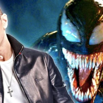 Eminem Offers Tiny Taste of Old School Venom Theme Song