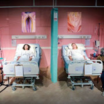 REVIEW: 'A Funny Thing Happened On The Way To The Gynecologic Oncology Unit At Memorial Sloan Lettering Cancer Center Of New York City' at the Finborough Theatre